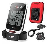 POLAR(ポラール) 【日本正規品/日本語対応】GPSサイクルコンピュータ・長時間バッテリー搭載 M450HRレッドSpecial Edition(限定モデル) 90060376 レッド