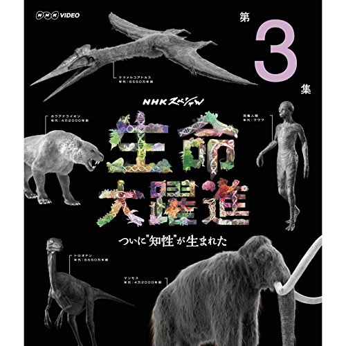 NHKスペシャル 生命大躍進 第3集 ブルーレイ
