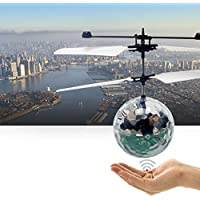 [マジックソース]Magic Source International Flying Ball Drone Helicopter Crystal Ball Built in Shinning LED Lighting Aircraft for Kids, [並行輸入品]