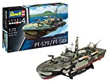 ドイツレベル 1/72 アメリカ海軍 PTボート PT-588/579 魚雷艇 プラモデル 05165