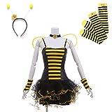 (ドリームガール) Dreamgirl Honeybee コスチューム コスプレ ハロウィン かわいい キュート(YE-イエロー、