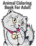Animal Coloring Book For Adult: Cute Animals Coloring Book for Teenagers, Young Adults, Boys, Girls, Ages 9-12,13-16, Detailed Designs for Relaxation & Mindfulness