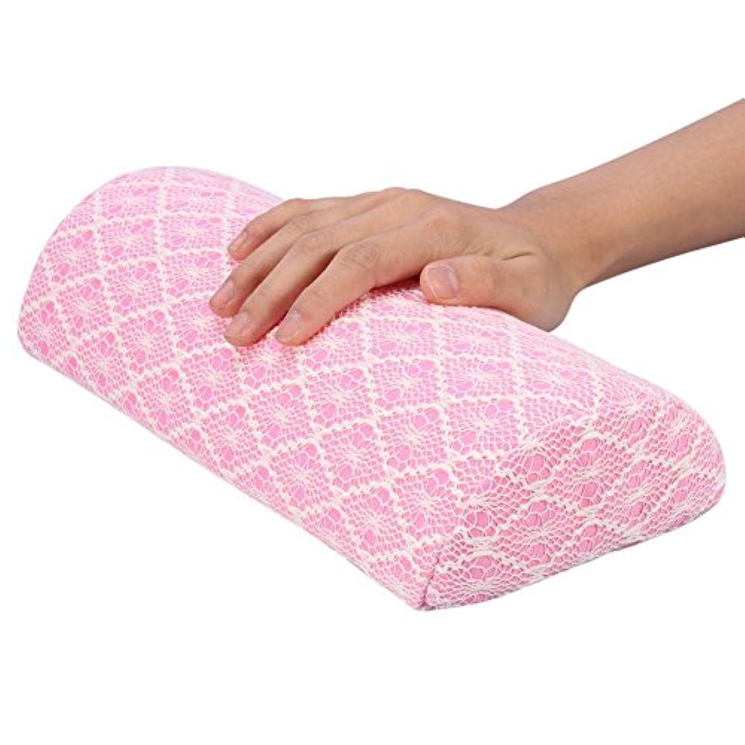 マウントバンクみ著名なハート柄 手の枕 ネイルマット 8パターンファッションウォッシャブルネイルアート 美容院 美容室 サロン 腕枕 腕マクラ 腕置き 肘置き(8)