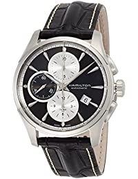 [ハミルトン]HAMILTON 腕時計 Jazzmaster Auto Chrono(ジャズマスター オート クロノ) グレーダイヤル H32596781 メンズ 【正規輸入品】