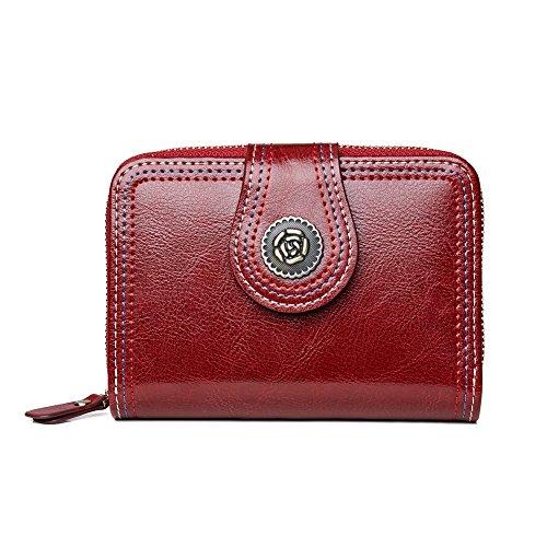 [ボスタンテン]BOSTANTEN 財布 レディース 二つ折り 本革 ミニ財布 小銭入れ クラシック風 人気