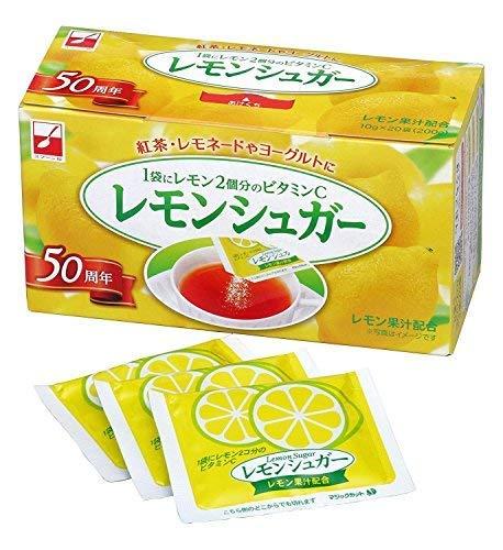 スプーン印 レモンシュガー20袋入り【20箱セット】