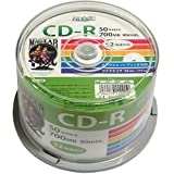 HI-DISC データ用CD-R HDCR80GP50 (700MB 52倍速 50枚)