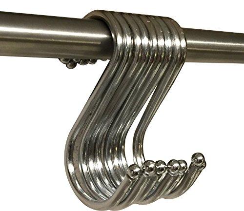 フリール(Freell) Lサイズ 12cm S字フック 5個セット (セット販売:5個、10個、30個、50個セット)収納、吊り下げ、インテリア、ディスプレイ