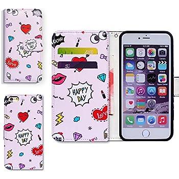 66cb050943 iPod Touch 6 ケース,Touch 5 ケース,アイポッドタッチ 6/5 ケース,Bcov 良質PUレザーケース 横開き 手帳型 二つ折り  カード収納ポケット 保護カバー 可愛い柄 ピンク