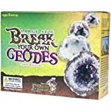 Large Size Break Open Geodes  Kit 12 Whole Geodes by Ancient Treasure Adventures