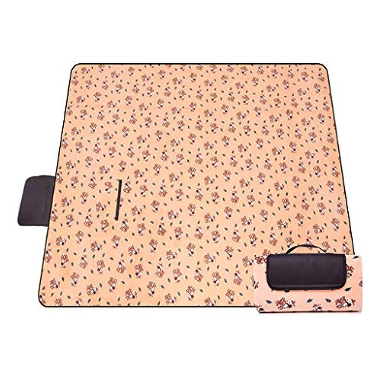 メンタリティ素朴な密度ビーチマット、ピクニック毛布、オーニングカーペット、ポータブル屋外用カーペットマット、キャンプ用サンドプルーフ屋外 (Color : B, Size : 150x200cm)