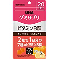 UHAグミサプリ ビタミンB群 オレンジ&グレープフルーツ味 スタンドパウチ 40粒 20日分
