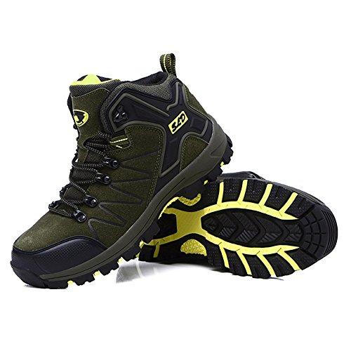 [해외]등산화 트레킹 슈즈 남녀 겸용 - 방수 트레킹 하이킹 신발 미끄럼 방지 하이킹 야외 신발 큰 크기 등산 신발 경량 운동화/Mountaineering shoes Trekking shoes unisex - waterproof trekking hiking shoes prevention hiking outdoor shoes big siz...