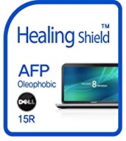 Healingshield スキンシール液晶保護フィルム Oleophobic AFP Clear Film for Dell Laptop Inspiron R15