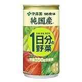 【伊藤園 公式通販】純国産 1日分の野菜 缶190g × 30本入