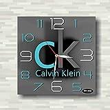 カルバンクライン Calvin Klein 11'' 壁時計(カルバンクライン)あなたの友人のための最高の贈り物。逆にしているメカニズム。あなたの家のためのオリジナルデザイン