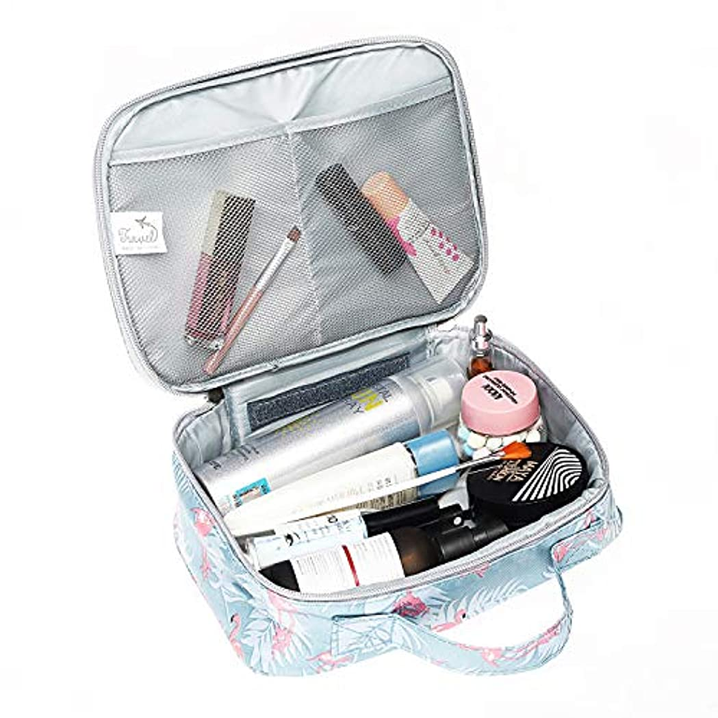 メイクボックス 化粧ポーチ メイクバッグ 高品質 機能的 大容量 化粧箱 コスメボックス トラベルバッグ 化粧バッグ 化粧品収納 仕切り 旅行用 軽量 持ち運び 使いやすい 化粧道具 小物入れポーチ 可愛い