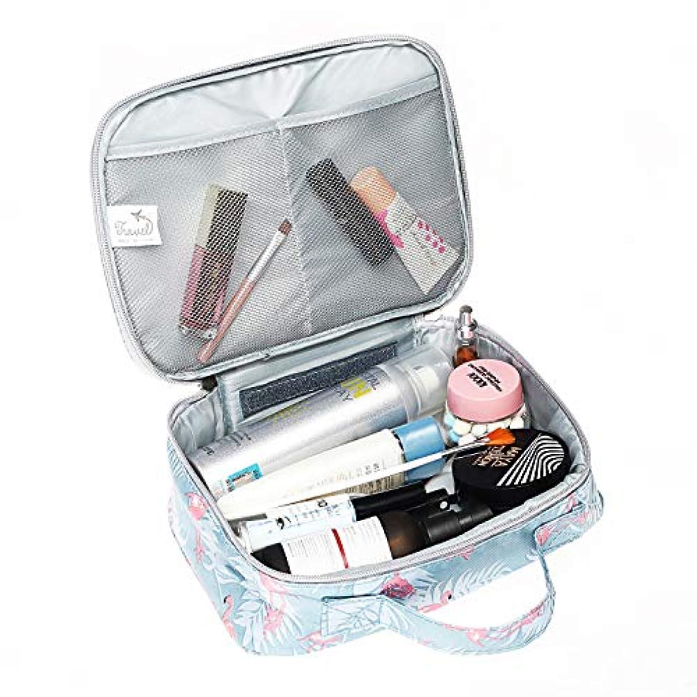 無数のハチバイパスメイクボックス 化粧ポーチ メイクバッグ 高品質 機能的 大容量 化粧箱 コスメボックス トラベルバッグ 化粧バッグ 化粧品収納 仕切り 旅行用 軽量 持ち運び 使いやすい 化粧道具 小物入れポーチ 可愛い
