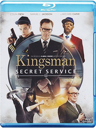 Kingsman: secret service [Blu-ray] [Import anglais]