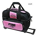 (ストーム) ボウリングバッグ SB147-CG 2ボールキャリー(小型) ピンク 【ボウリング用品】