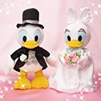 Bridal stuffed S Donald Duck & Daisy Duck [並行輸入品]