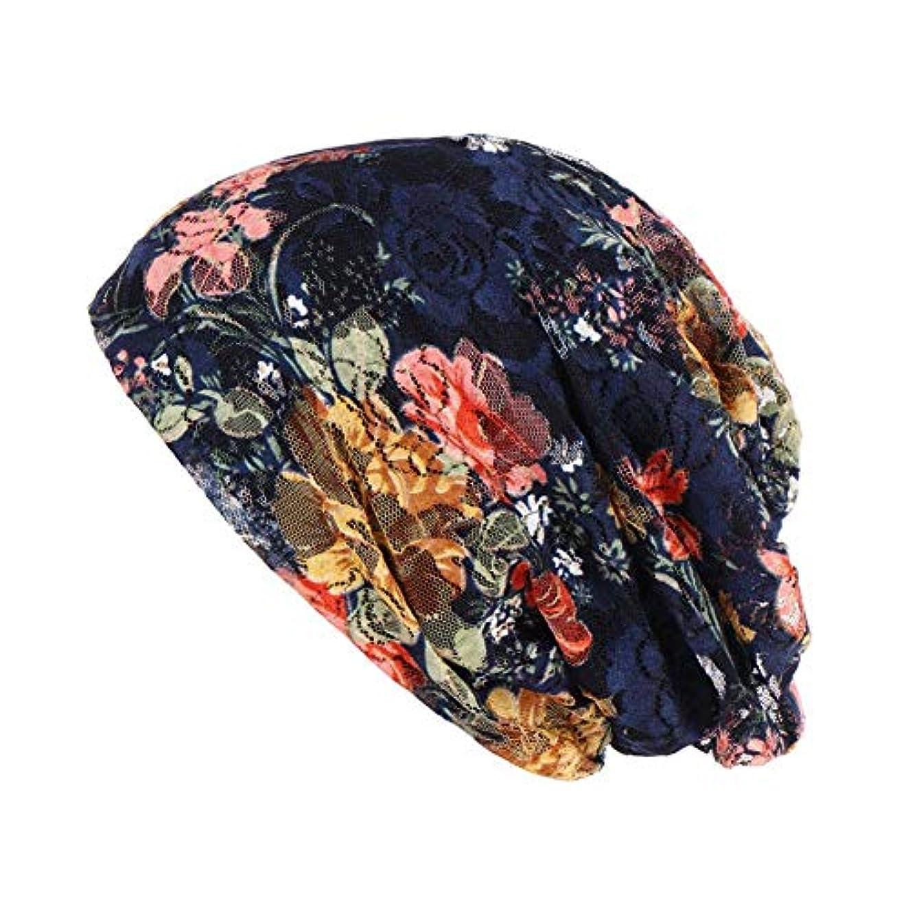 心理学施しログヘッドスカーフ レディース ビーニーハット レディース 柔らかい 多用途 頭飾り 軽量 通気性 眠り、化学療法 、 キャンサーと脱毛症