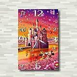 ウォルト・ディズニー・カンパニー 38 cm x 25 cm Handmade Wall Clock