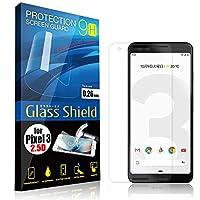 AnglersLife 液晶保護フィルム Pixel3 2.5D 9H ガラスシールド(全透明) ガラスフィルム 強化ガラス ピクセル スリー