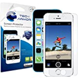 Tech Armor HD Clear ハイディフェンション ノングレア 高光沢 液晶保護フィルム スクリーンプロテクター for Apple iPhone 5 / iPhone 5S / iPhone 5C ( 保護フィルム 3枚入り )