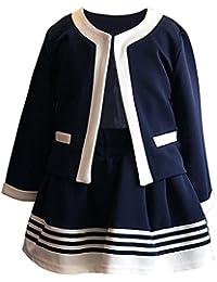 [オチビ] オールシーズン きれいめ お呼ばれ フォーマル ドレス スーツ セットアップ 女の子 100~140