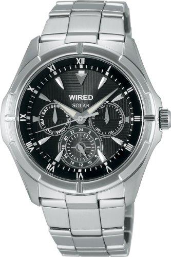 [ワイアード]WIRED 腕時計 カーブハードレックス ソーラー AGAD032 メンズ