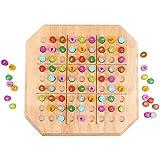 三次元パズル Sudoku ゲームチェス 9スクエア グリッド 4/6 グリッド 入門 小学校 多機能 チェス 子供用 教育玩具 (4歳以上)