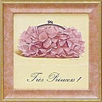 絵画 ミニゲル アートフレーム マルコ ファビアノ 「プリンセス」/ 絵画 壁掛け のあゆわら