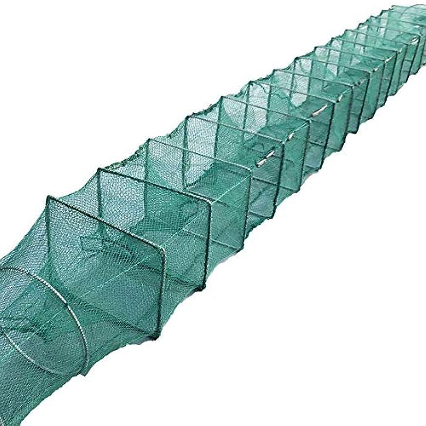 折りたたみ式フィッシュトラップ、ディップネット、ポータブルメッシュザリガニトラップ、釣り着陸用ネット、折りたたみ式漁網、魚用