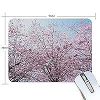 美しい 咲くさくら マウスパッド 事務所机用 パソコン デスクマット 傷防止 防水 多機能 19cm*25cm