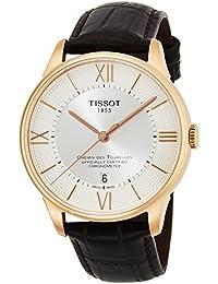 [ティソ] TISSOT 腕時計 シュマン・デ・トゥレル オートマティック COSC パワーマティック80 シルバー文字盤 レザー T0994083603800 メンズ 【正規輸入品】