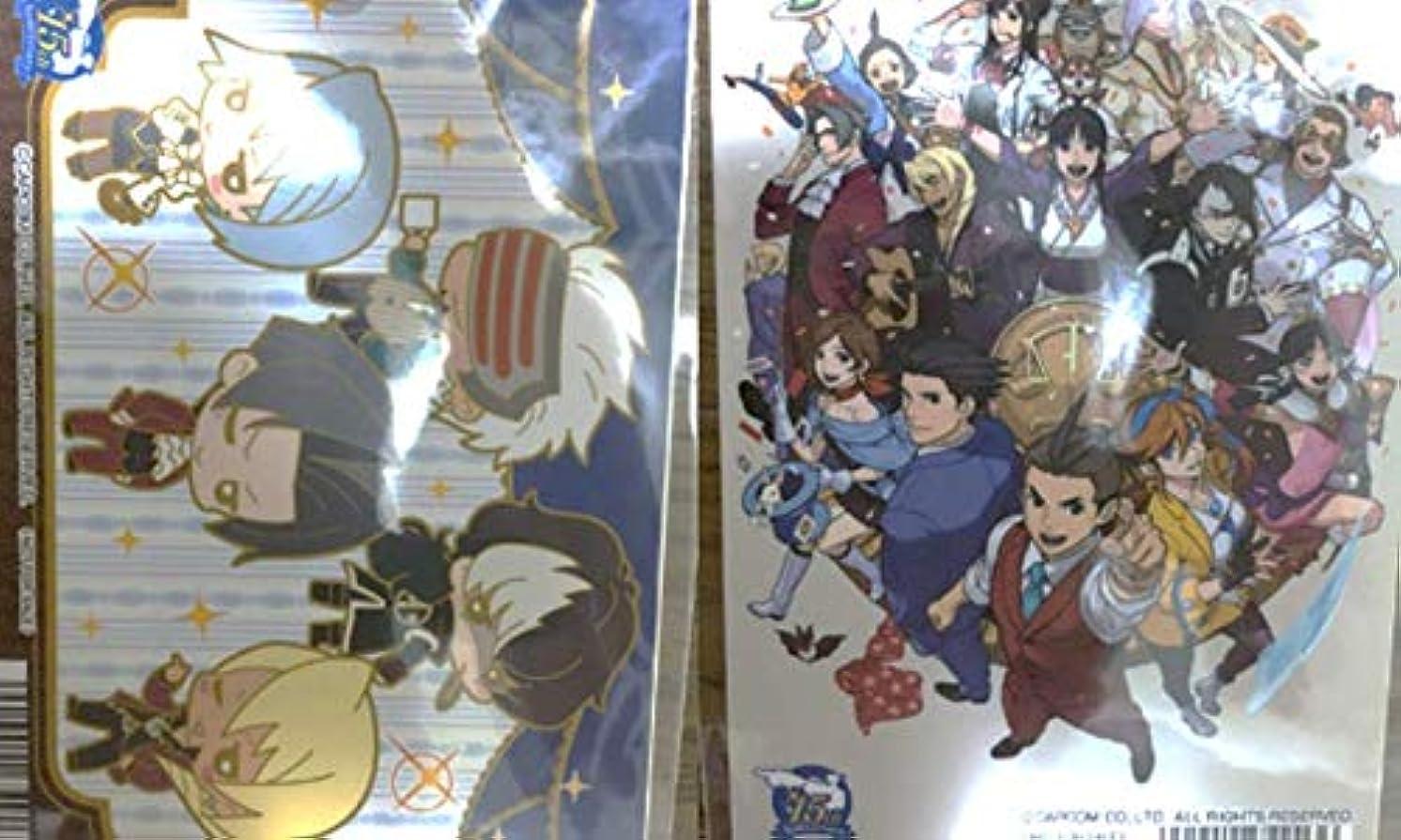 宣言衝撃船外逆転裁判 カード2枚セット アニメイト アメニティ 非売品