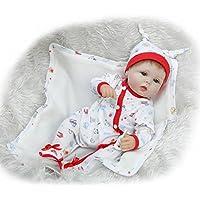 シリコンRebornベビー人形17インチ42 cmハンドメイド磁気おしゃぶり新生児人形ベビーおもちゃ