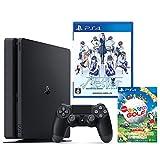 PlayStation 4 ジェット・ブラック 500GB + √Letter ルートレター + New みんなのGOLF ダウンロード版【Amazon.co.jp限定】オリジナルカスタムテーマ配信