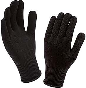 SealSkinz(シールスキンズ) インナーグローブ Merino Glove Liner ブラック 1211430 BLK FREE
