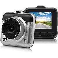 Yikoo ドライブレコーダー 2.2インチ 超小型ドラレコ 120度広角レンズ Gセンサー 車載カメラ 1080P フルHD 1200万画素 防犯カメラ 動き検知 常時録画 衝撃録画 駐車監視 (2.2)