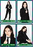 欅坂46 5thシングル スーツ衣装 ランダム生写真 4種コンプ 佐藤詩織