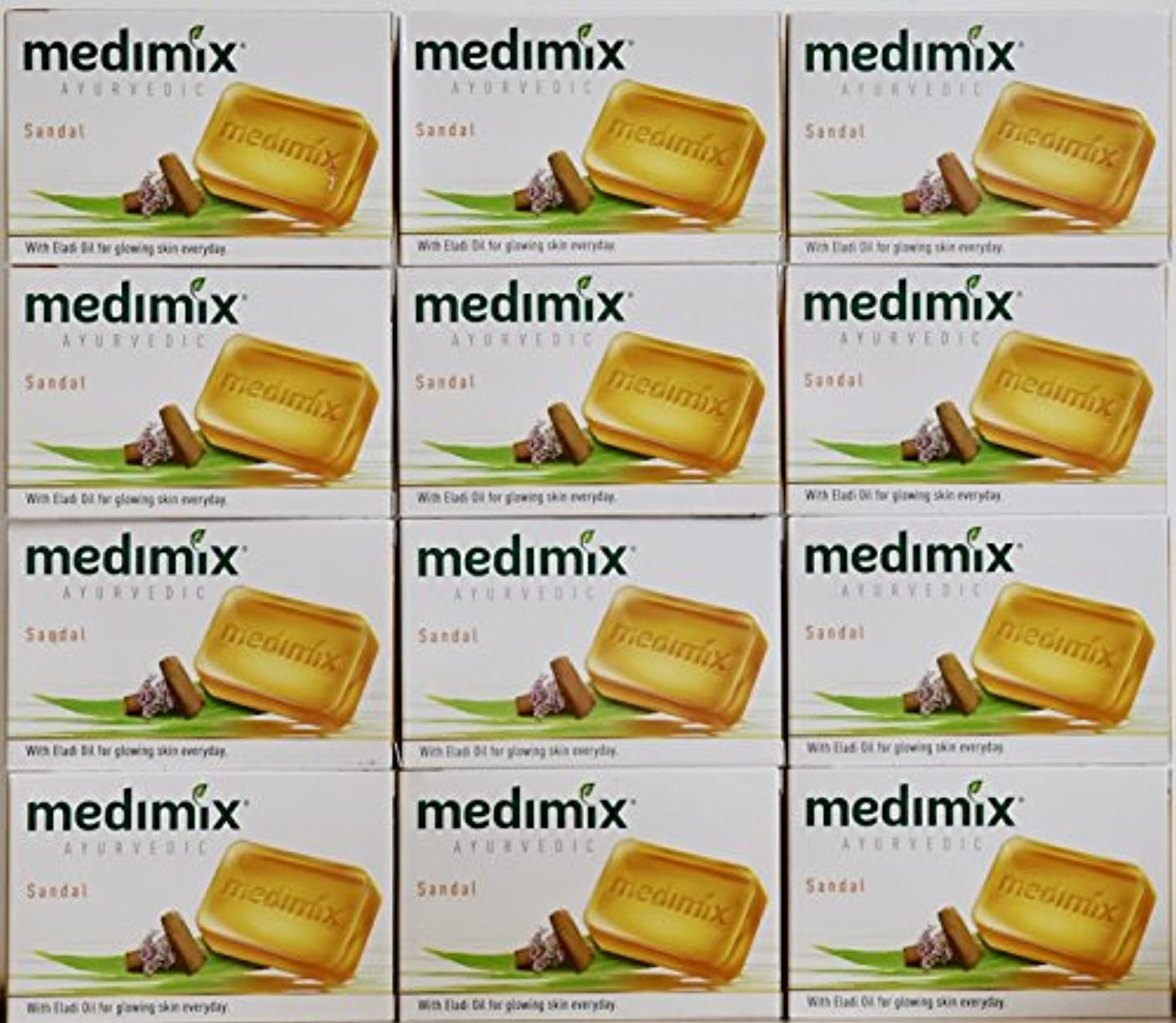 接地マウントファイナンスmedimix メディミックス アーユルヴェディックサンダル 石鹸(旧商品名クラシックオレンジ))125g 12個入り