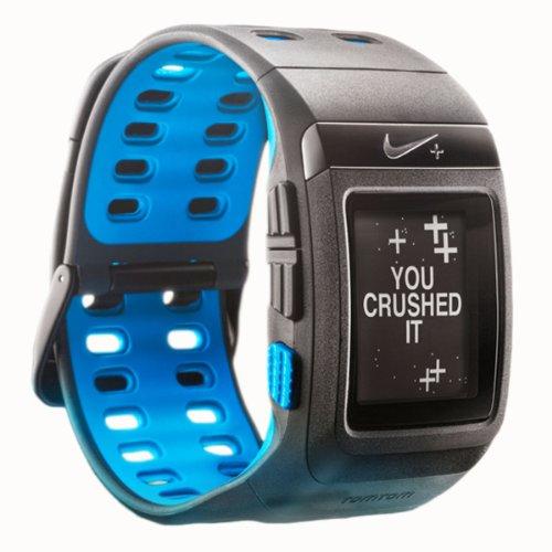 Nike+ SportWatch GPS Powered by TomTom Blue ブルー フットセンサー別売 並行輸入品
