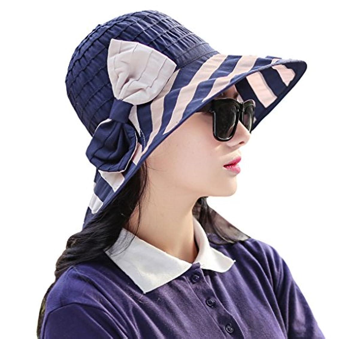 松明囲む裏切る日除け帽子 女の子 レディース ビーチハット 夏 紫外線対策 折り畳める 帽子 uvカット おしゃれ 蝶結び つば広 女優帽 可愛い 遮光ハット 白肌キープ 小顔効果 通勤 旅行 外遊び