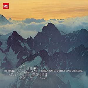 リヒャルト・シュトラウス「アルプス交響曲」ルドルフ・ケンペ指揮ドレスデン国立歌劇場管弦楽団