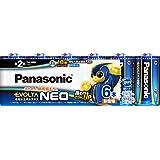 パナソニック エボルタNEO 単2形アルカリ乾電池 6本パック LR14NJ 6SW