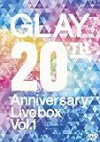 GLAY 20th Anniversary LIVE BOX VOL.1[DVD]