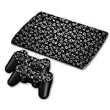 Zhhlaixing PS3 クリエイティブ Vinyl Stickers Skin Thin Film Playstation 3 Fancy ステッカー Cover CECH-4000 ZY0064