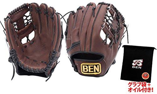 BEN(ベン)【BGN-1507】一般軟式用 内野手用 野球 グラブ プロ・・・